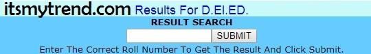 NIOS D.El.Ed Result 2018