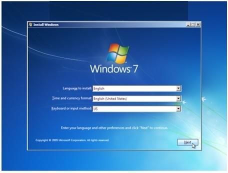windows 7 keyboard options