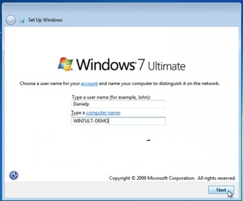 windows 7 user creation