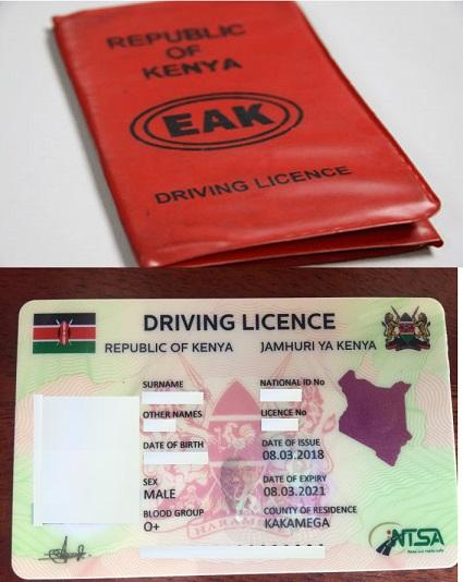 Kenya Driving License