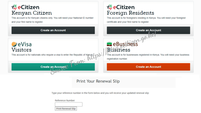 Kenya Driving License Online