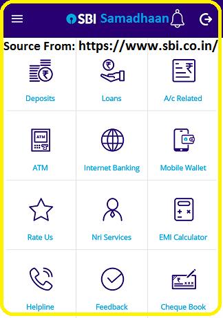 SBI Samadhaan app