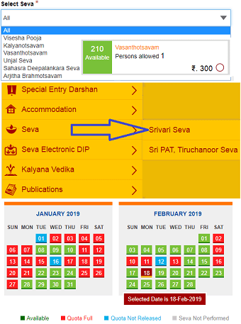 ttd seva online ticket booking