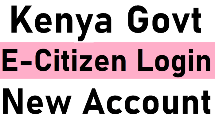 Kenya ecitizen Login